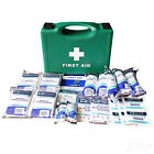 1-10 Person Workplace First Aid Kit Bag Box HSE Compliant Work Place + Refills