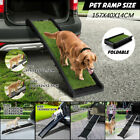 Portable Aluminium/Plastic Pet Dog Ramp Cat Step Carry Folding Non Slip Surface