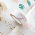Foil Paper Sticker Masking Washi Tape Stationery Scrapbooking Decorative Tapes on eBay