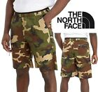 The North Face Z-Pocket Woven Men's Camo Shorts Green Camouflage Hiking Shorts