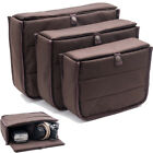 New DSLR Camera Bag Padded Insert Partition Case Lens Organizer Travel Bag Pouch