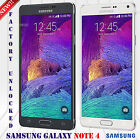 "SAMSUNG GALAXY NOTE 4 N910V VERIZON GSM & CDMA UNLOCKED PHONE 32GB 16MP 5.7"" HD"
