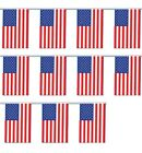BUNTING AMERICAN USA UNITED STATES STARS AND STRIPES ROYAL WEDDING FLAGS DECOR