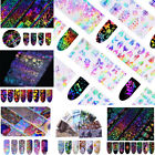Holographic Nail Foils Christmas Dreamcatcher Geometric Butterfly 4*20cm Sticker