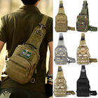 Men's Casual Camo Military Messenger Shoulder Bag Travel Bags Hiking Backpack US