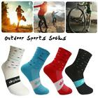 Sport Breathable Cycling Sock Unisex Road Mountain Racing Bike Footwear Stocking