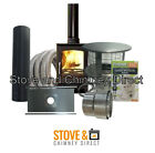 Ecosy Curve 5 KW Stove (Defra) Stove Package Deal
