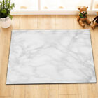 "72X72"" Marble Shower Curtain White Background Waterproof Fabric Bathroom Curtain"