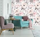 3D Graffiti Pink Peony Flower 236 WallPaper Murals Wall Decal WallPaper AU Carly