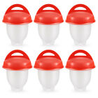 12pcs Hot DIY Egglettes Egg Cooker Hard Boiled Eggs without the Shell Egg Cups