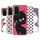 HEAD CASE DESIGNS CATS AND DOTS HARD BACK CASE FOR HUAWEI PHONES 1