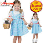 CK1150 Toddler Dorothy Licensed The Wizard of Oz Girls Book Week Dress Costume