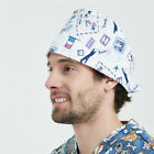 68 Kinds Men Women Doctor Nurses Printing Scrub Cap Medical Surgical Surgery Hat