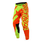 Troy Lee Designs 2018 GP Pants Shadow Flo Yellow/Orange Youth All Sizes