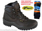 MENS WALKING BOOTS GRISPORT TIMBER WATERPROOF HIKING BOOTS BROWN