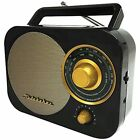 Studebaker Retro Portable AM/FM Radio with Aux Input
