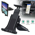 Universal CD Slot Car Mount Holder for 4-12 inch Tablets Mac iPhone X Samsung S9