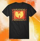 New Wu-Tang Clan Black Mens Classic Vintage Concert Rap T-shirt image