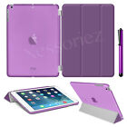 New Smart Magnetic Leather Stand Case Cover for iPad 2 3 4 Air Mini Pro 9.7 2018 <br/> FREE Protector &amp; Stylus✔ Auto Sleep/Wake✔1ST CLASS POST