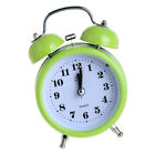 Silent Bedside Clock Double Twin Bell Alarm Clock with Nigth Light Function