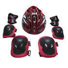 Skating Protective Kit Adults Knee Elbow Pads Hand Protection Skating Helmet