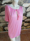 G.W. GERRY WEBER T-SHIRT BOHO FLAIR Gr.  40  42  44  rosa *NEU* 39,99€