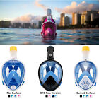 Kyпить Anti-Fog Full Face Mask Swimming Breath Dry Diving Goggle Snorkel Scuba Glass US на еВаy.соm