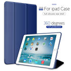 For Apple iPad 6th Generation 2018 9.7 Slim Magnetic Silicone Smart Cover Case