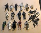 Gi Joe 3 3/4? Action Figures With Weapons Great Lot