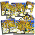 light painting video - VINCENT VAN GOGH MULBERRY TREE PAINTING LIGHT SWITCH OUTLET WALL PLATE ART COVER