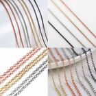 Fashion Round Men Women Necklace Charm Thin Short Rope Chain Jewelry Holiday New