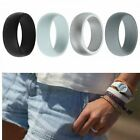 Kyпить 4-Pack Silicone Wedding Ring Men / Women  Rubber Band Flexible Lifestyle на еВаy.соm