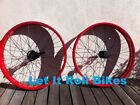"""BICYCLE RED FAT WHEEL 26"""" X 4.0 FRONT or REAR CRUISER CHOPPER BIKES CYCLING NEW"""