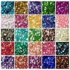 Внешний вид - 2000 PCS Round Cuppy Loose 6mm Sequins Paillettes DIY Craft Sewing Decor