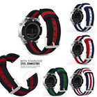 Woven Nylon Adjustable Watch Band Strap For Samsung Gear S3 Classic/Frontier