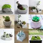 Внешний вид - DIY Flower Pot Silicone Molds Garden Planter Cement Concrete Vase Soap Moulds