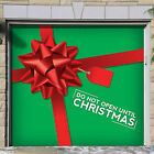 The Holiday Aisle Don't Open Until Christmas Present Garage Door Mural