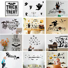 Happy Halloween Wall Stickers Removable Art Vinyl Decal Shop Windows Decor Mural