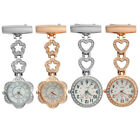 Fashion Women Pocket Watch Clip-on Hanging Pendant Design Doctor Nurse Watch image