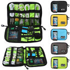New Cable Cord Organizer Electronics Accessories Travel Bag USB Hard Drive Case