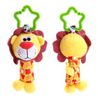 Baby Infant Rattles Plush Animal Stroller Hanging Bell Play Toy Soft Bed Doll FA