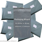 Strong Poly Mailing / Postal Bags 6.5ins x 9ins (165 x 230mm) Grey ~ Select Qty
