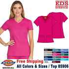 Dickies Scrubs EDS SIGNATURE Women's Medical Contemporary Fit V-Neck Top 85906