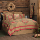 DOLLY STAR QUILT SET-choose size & accessories-Rustic Red/Green Plaid VHC Brands image