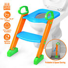Baby Child Toddler Potty Training Toilet Seat Chair Toddler Ladder Step Up Stool