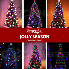 Jingle Jollys Led Christmas Tree 1.8/2.1/2.4/3/3.6m Fibre Optic Xmas Home Decor