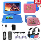 "9"" Portable DVD Player CD TV VCD Video Swivel Screen USB/SD"