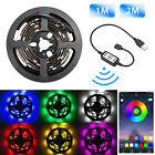 APP Bluetooth Controller 5050 RGB Multicolor LED Strip Light USB Powered 4 Pins