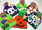 Halloween Knit Light Up Beanie Hat Pick your Style Ghosts Pumpkin Monster