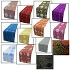 Table/Bed Runner*Chinese Rayon Brocade Dinning Coffee Cloth Header Cover*BL2